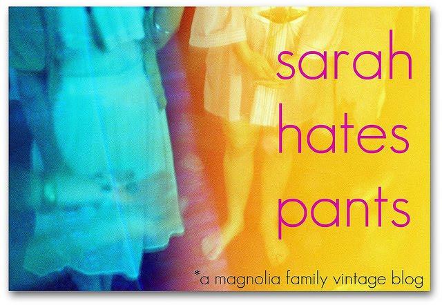 sarah hates pants