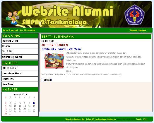 TUTORIAL WEBSITE: Example Website Sederhana Version 1.3