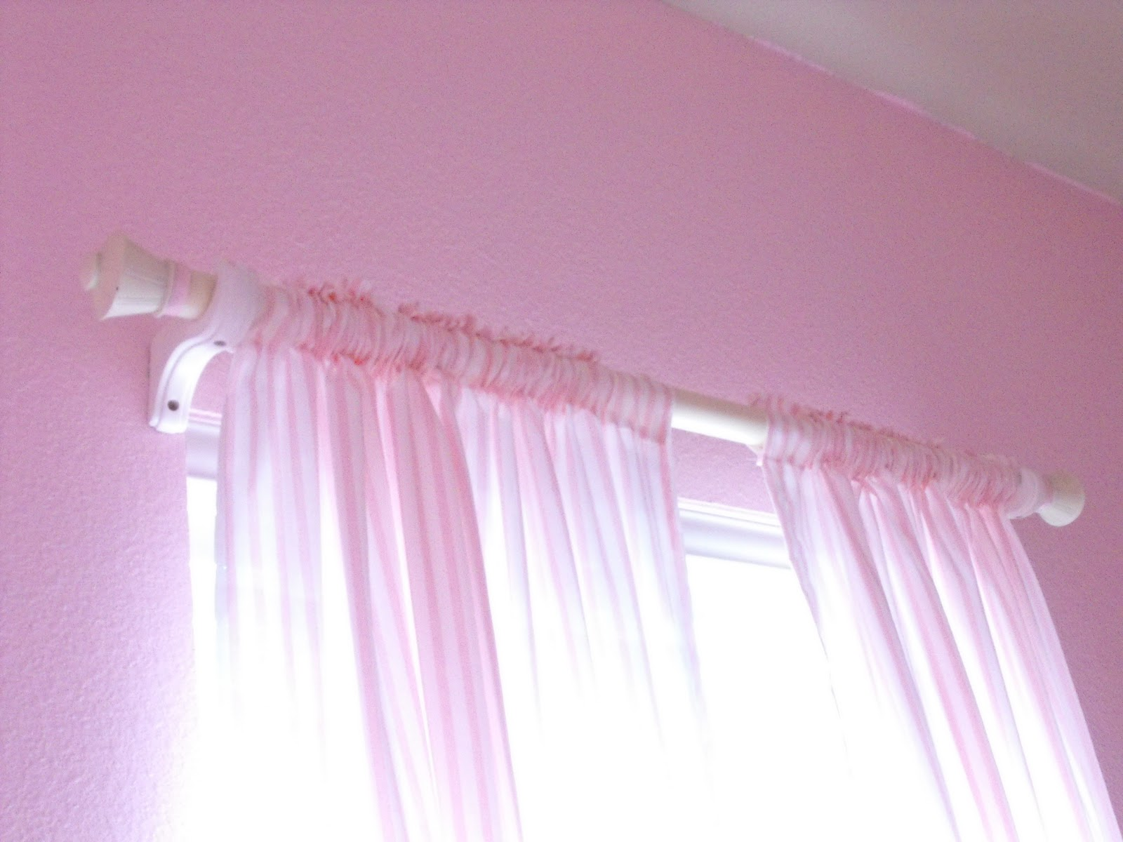 a little of this, a little of that: PVC Pipe Curtain Rods {AGAIN}