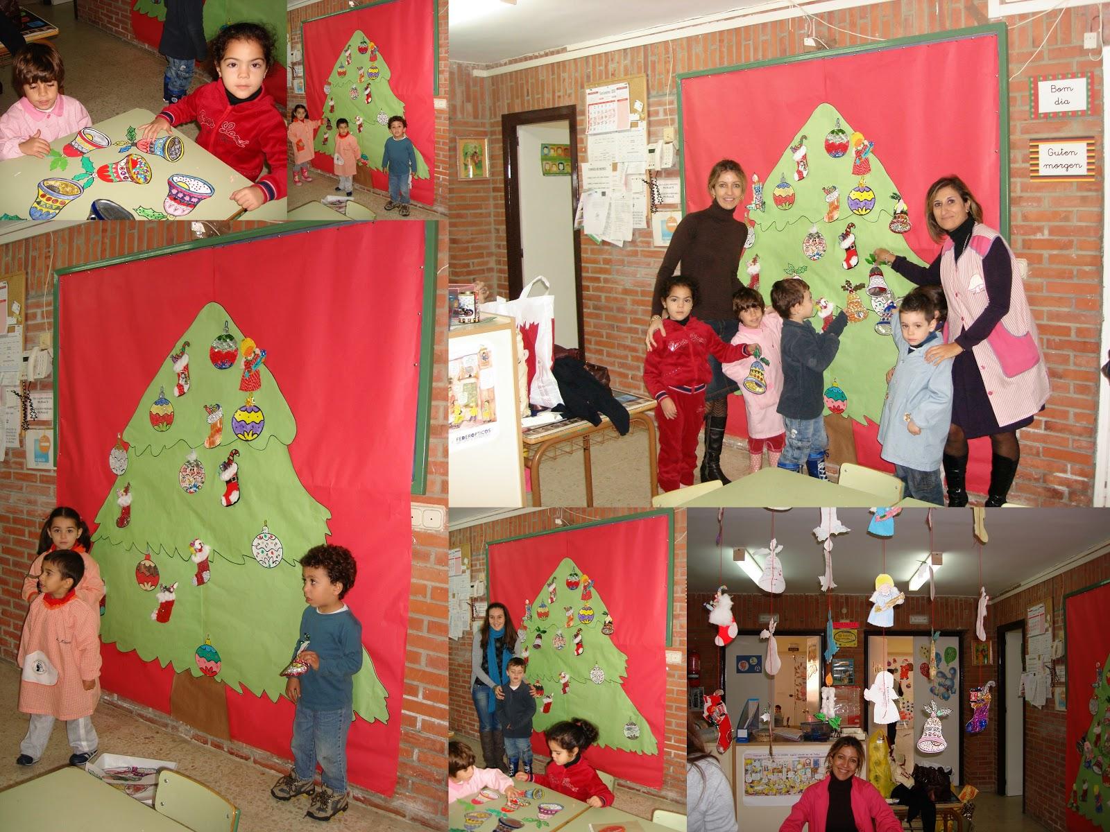 el blog del morej n decoraci n navide a en infantil