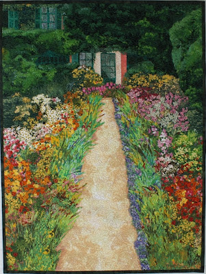 Quilt Inspiration: Monet's Garden: Impressionism and Quilting : impressionist quilts - Adamdwight.com
