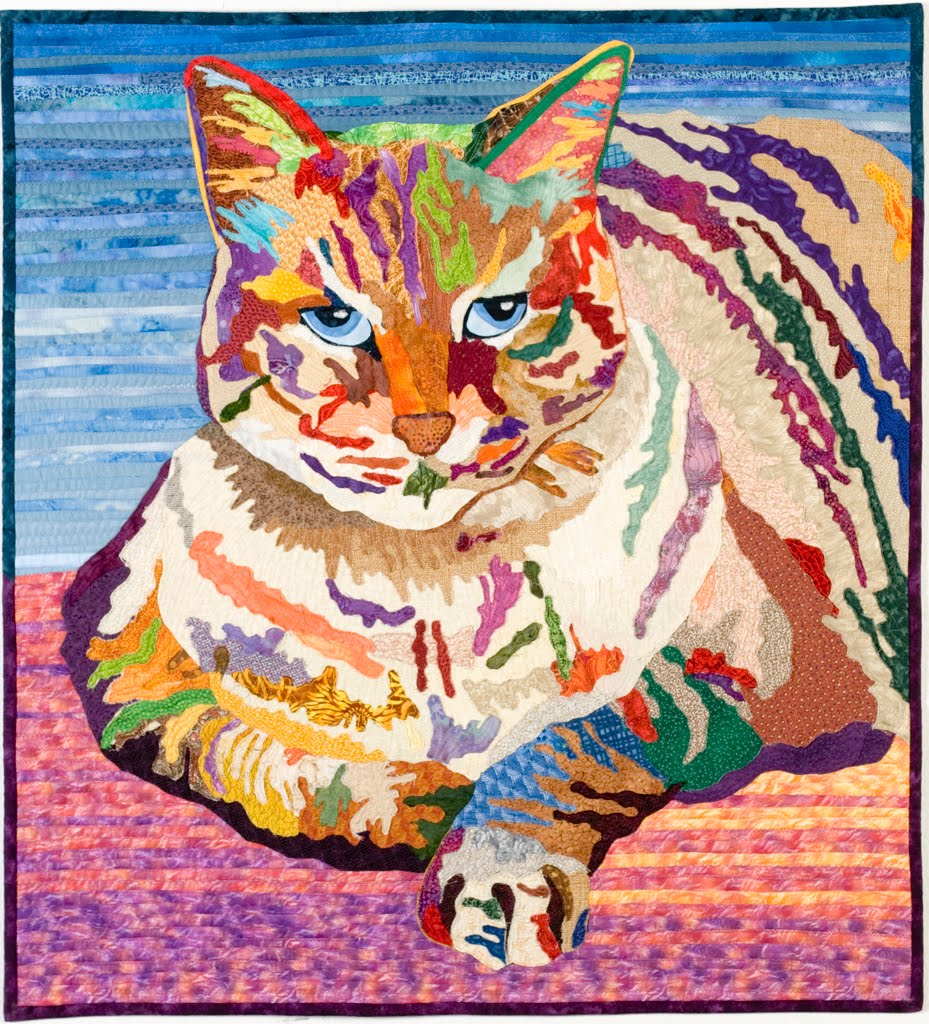 Amazing Quilts: Quilt Inspiration: The Best Of Cat Quilts! Part Two