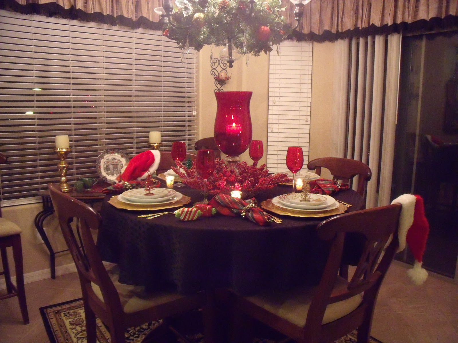Thinkin 39 Of Home Christmas Tablescape