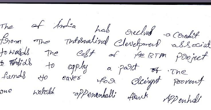 Dasara Holiday Camps N Classes 2017 In Handwriting Memory