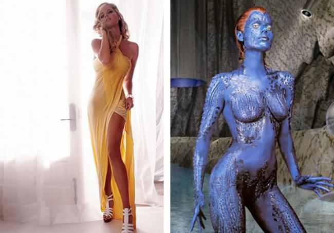 Something rebecca romijn breasts think, that