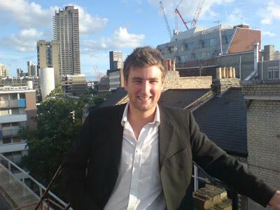 Chris Bishop on roof!