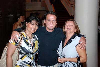 Marina, Carlos e Ramona Lacerda