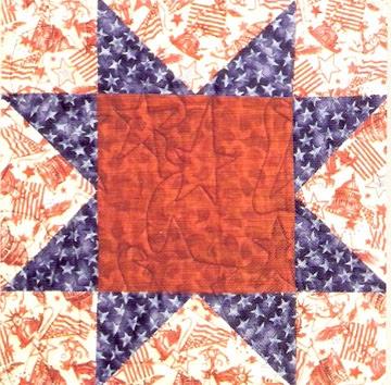 Civil War Quilts: 2 North Star