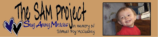 The SAM Project...Snug Among Miracles
