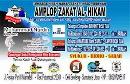 AMPLOP ZAKAT AL-HIKAM