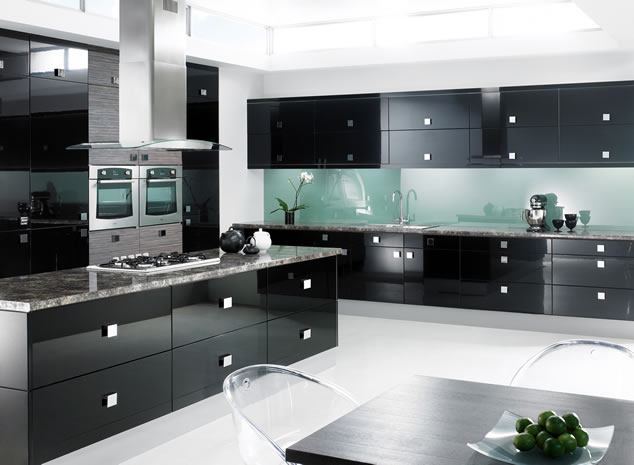 Cabinets for kitchen black kitchen cabinets for Black kitchen cabinets