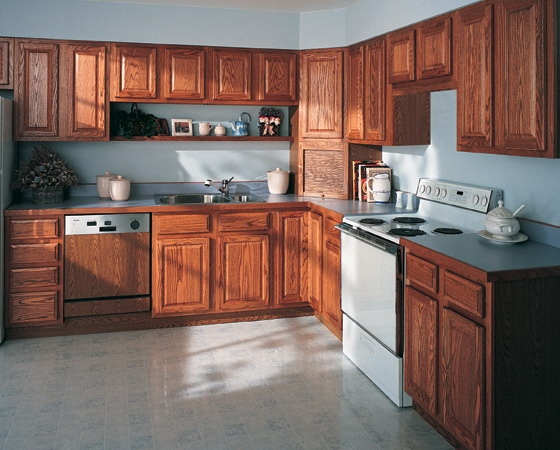 Island and kitchen cabinet glaze colors