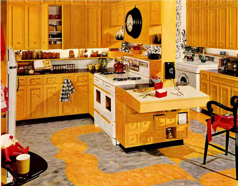 yellow kitchen cabinets title=