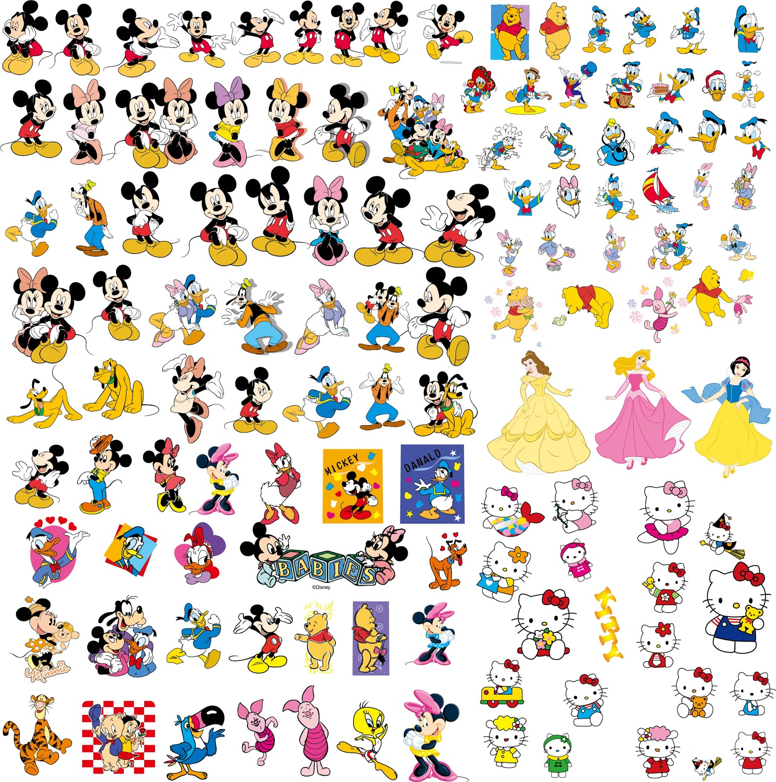 Related Image With Disney Cartoon Character Clip Art