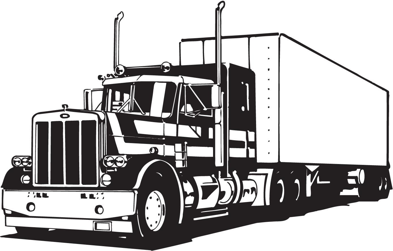 Semi Truck Clip Art
