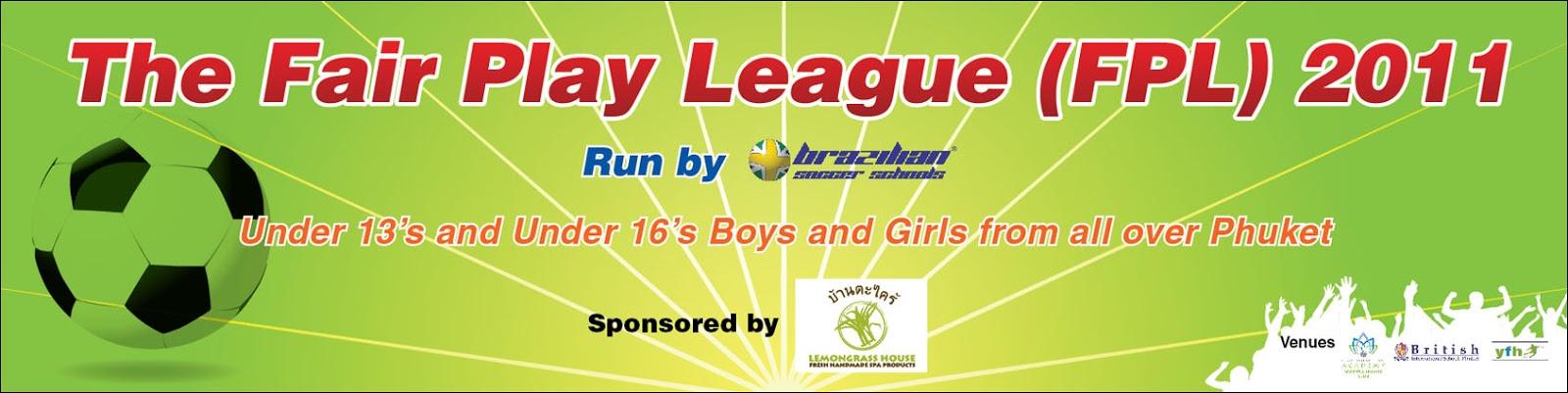 งานป้ายไวนิล The Fair Play League (FPL) 2011