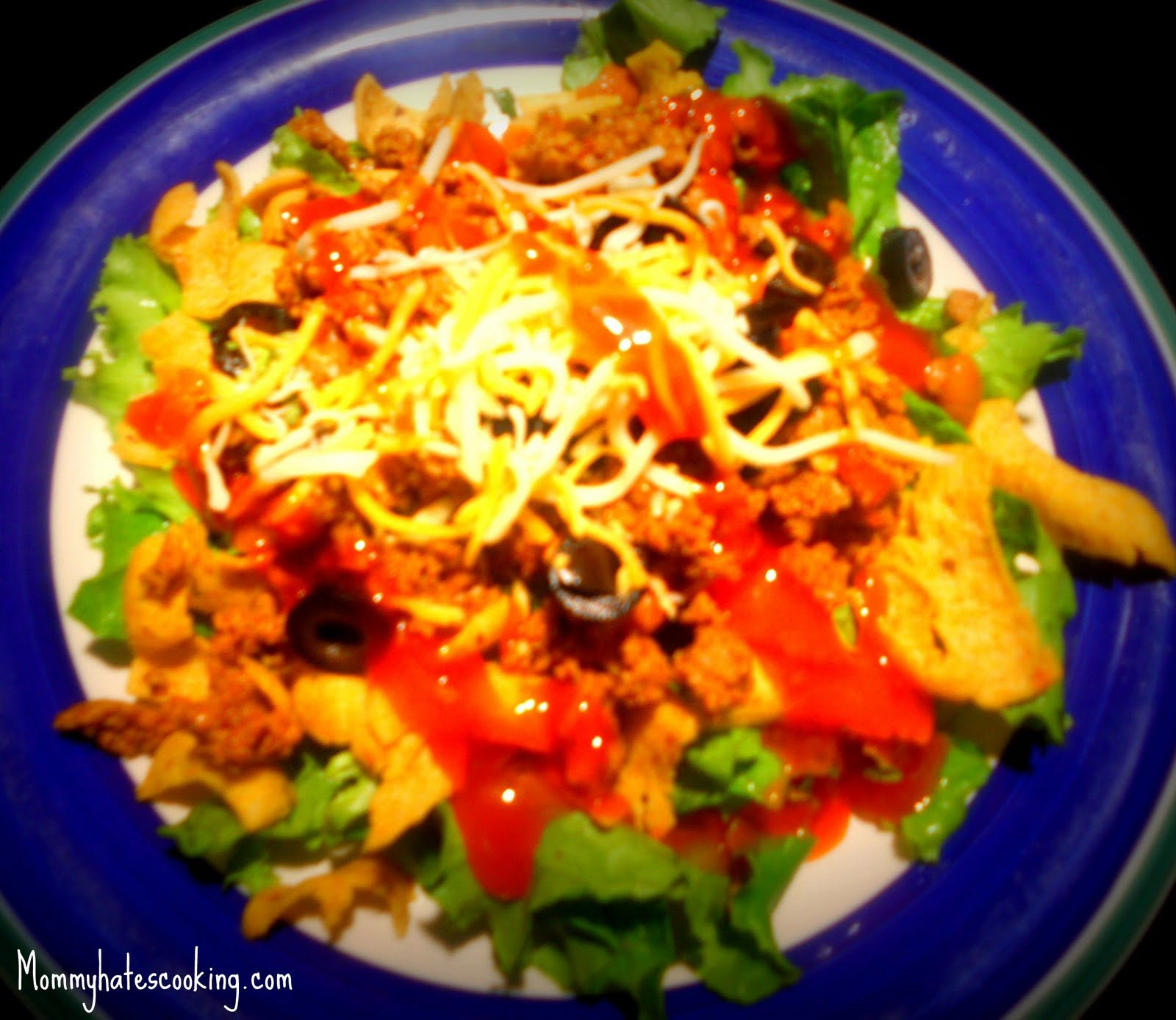 My taco salad recipe was recently featured on $5 Dollar Dinners ...