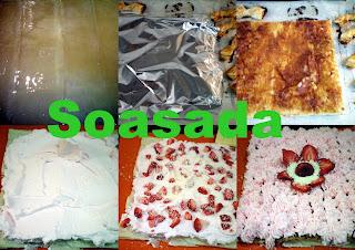 Tarta de hojaldre con fresas y nata Mis+im%C3%A1genes