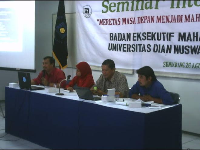 Seminar Internal BEM UDINUS