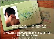 DENUNCIE O TRÁFICO DE MULHERES