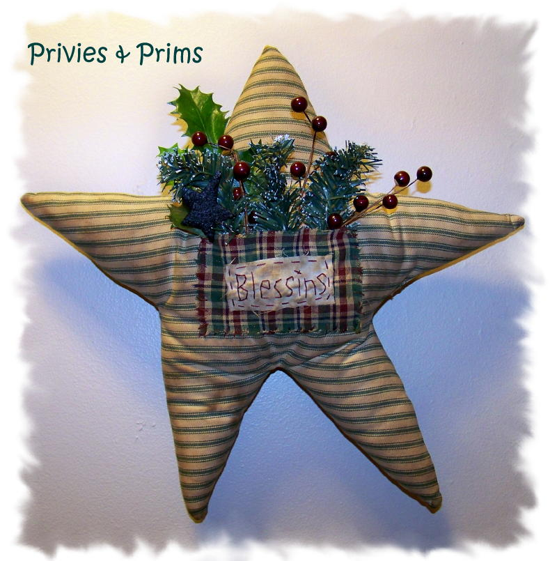 its out of the box this star and its twin waited 2 years to be finished maybe 3 years anyway it was a long time not christmas - Primitive Christmas Crafts
