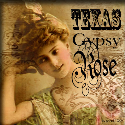 New! Texas Gypsy Rose! Etsy Shoppe!