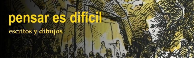 PENSAR ES DIFÍCIL