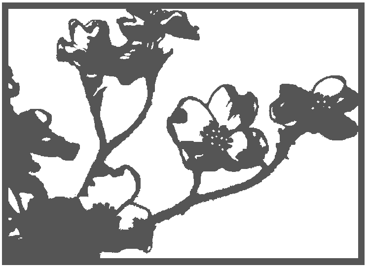 Akit Digital Design: Free paper cutting template! - Flowers