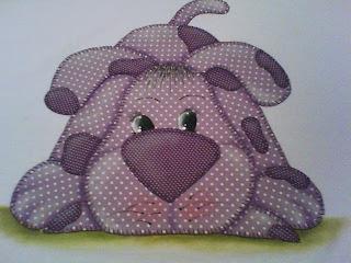 Que vocês acham desse cachorrinho lilás?