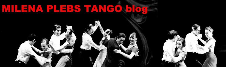 MILENA PLEBS TANGO blog