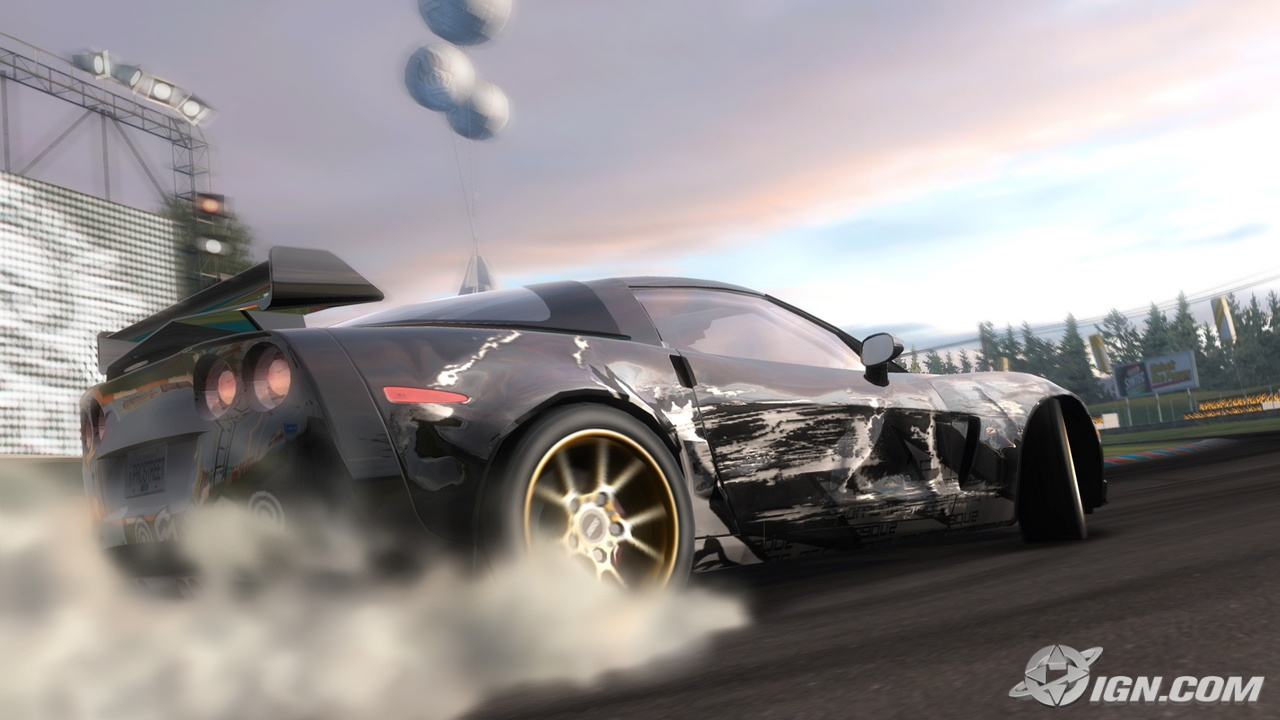 Nfs Pro Street Crashes In Car Lot