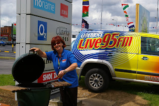 Anne Bowen Live 95FM at the Parkway Shopping Center
