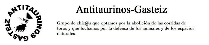 Antitaurinos - Gasteiz
