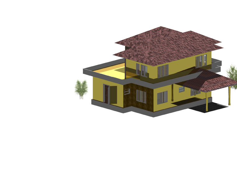 house plans kerala model. Three Bedroom Kerala House