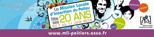 20 ans de la Mission Locale d'Insertion du Poitou