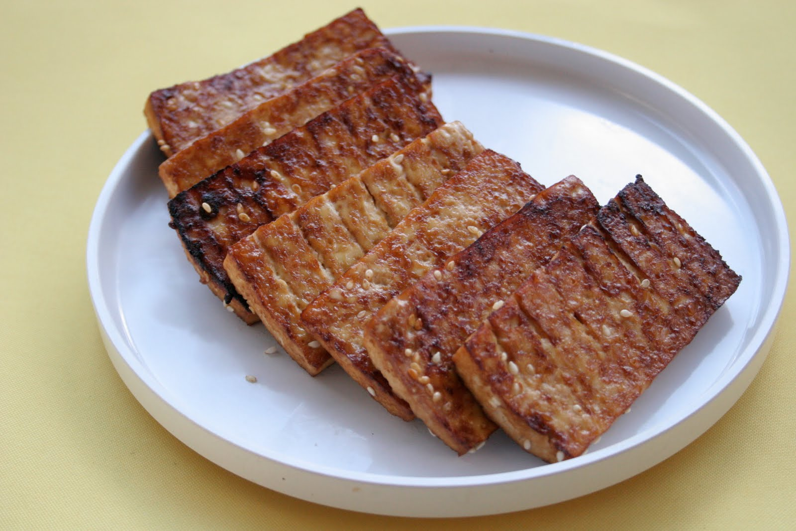Soy and Citrus Baked Tofu