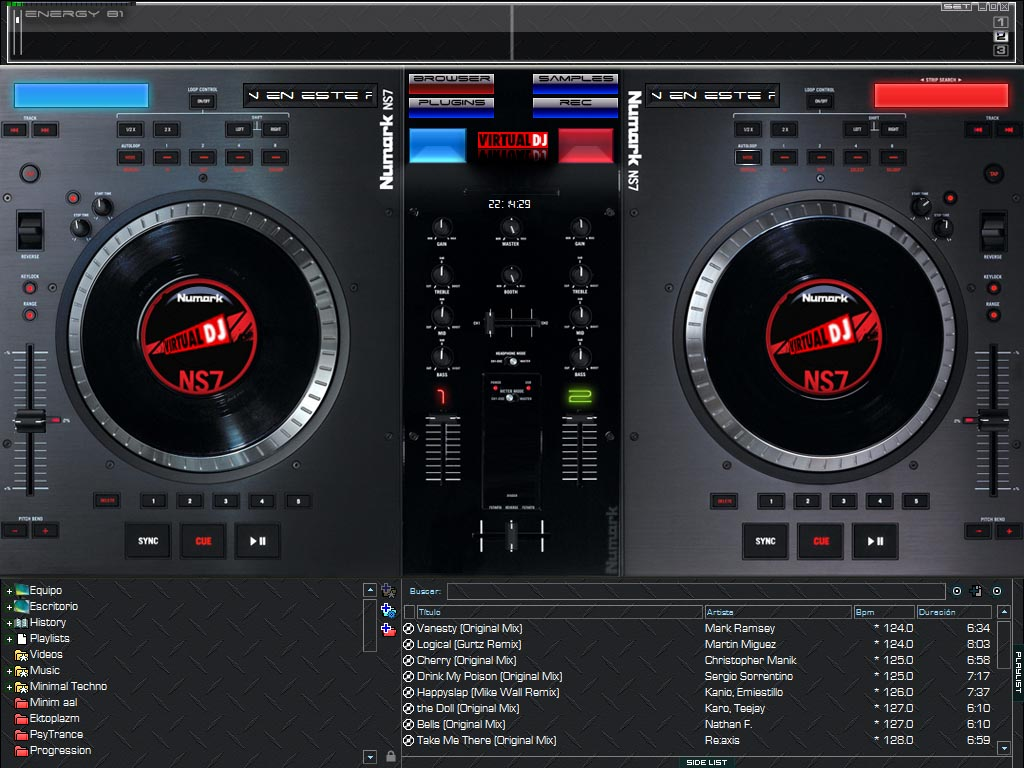 Download Skin Virtualdj Numark