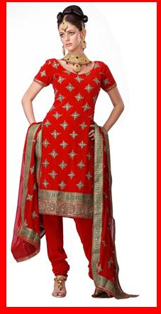 RedSalwarKameez BridalSalwarKameez2010 - Eid Special Competition August 10