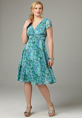 Summer Dress on Floral Georgette Dress   Western Women Summer Dress 2010   Ladies