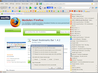 image extension smart bookmarks bar