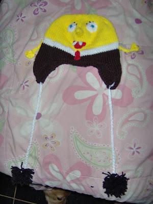 Kody May Knits Spongebob Squarepants Hat Pattern