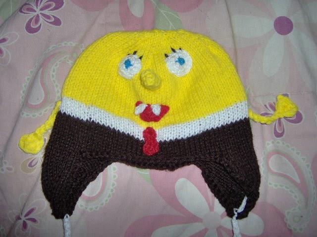 Kody May Knits: SpongeBob Squarepants Hat Pattern