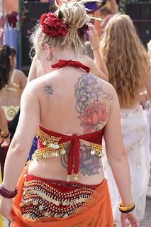 Flower Tattoo Girl Sexy:Soul Of Tattoo