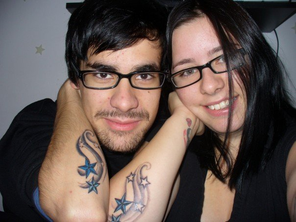 matching tattoos for couples. Matching Tattoos For Couples