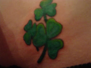 Irish Shamrock Tattoos Design Ideas and Trivia celtic tattoos shamrock (0)
