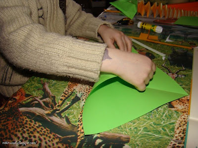 сгъване на фигури от хартия