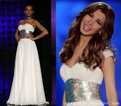 Wedding Dress Designers on Lebanese Fashion  Nancy Ajram In Lebanese Designers