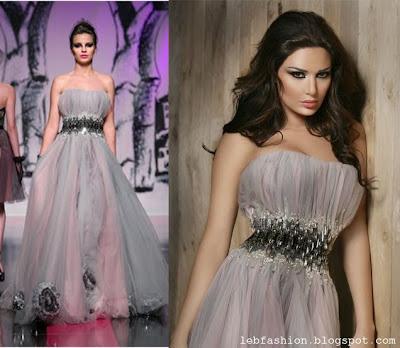 cyrine abdel nour dresses