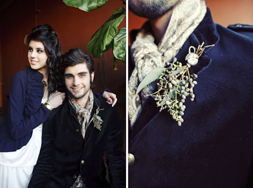 steam punk meets anthropologie wedding style