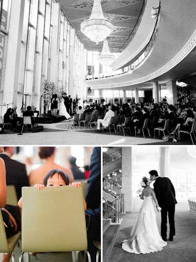 Dorthy chandler pavilion wedding ceremony
